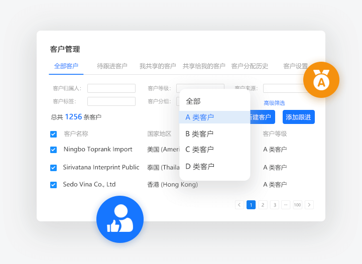 AB客_智能外贸客户管理系统